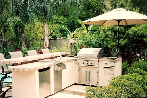 Cucina da giardino