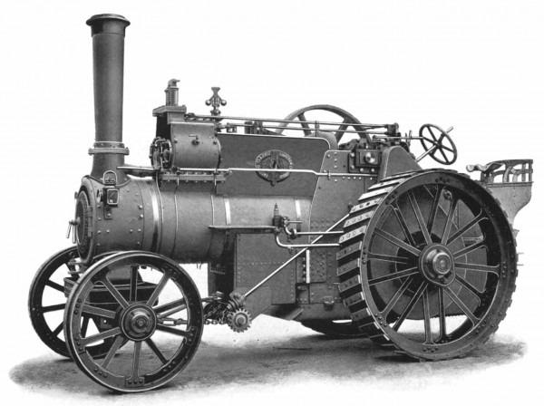 Storia del trattore