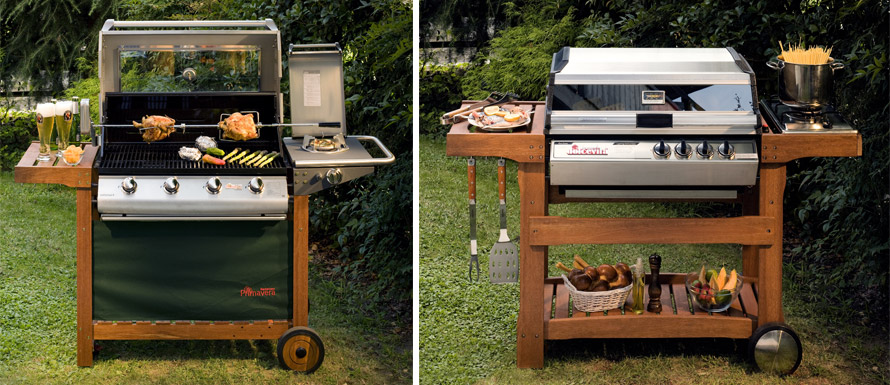 Barbecue Mobili Da Giardino.I Migliori Barbecue Da Giardino