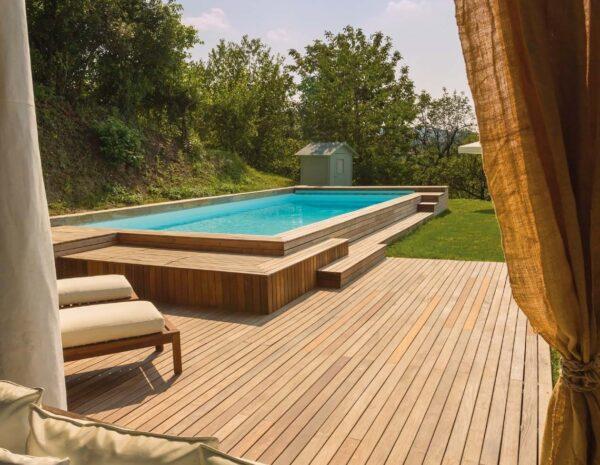 Le piscine fuori terra